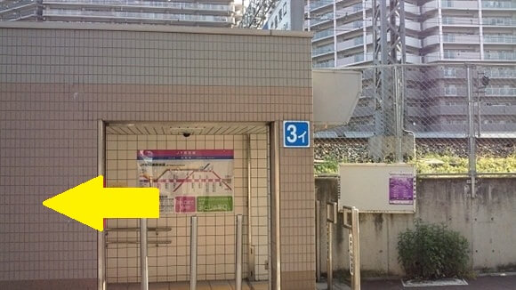 JR加島駅竹島東口(3—イ)